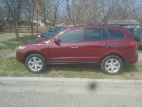 2007 Hyundai Santa Fe for sale at D & D Auto Sales in Topeka KS