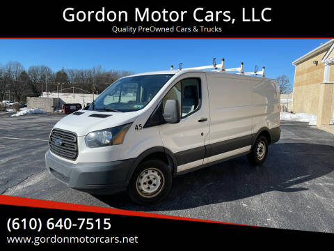 2015 Ford Transit Cargo for sale at Gordon Motor Cars, LLC in Frazer PA