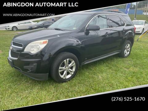 2010 Chevrolet Equinox for sale at ABINGDON AUTOMART LLC in Abingdon VA