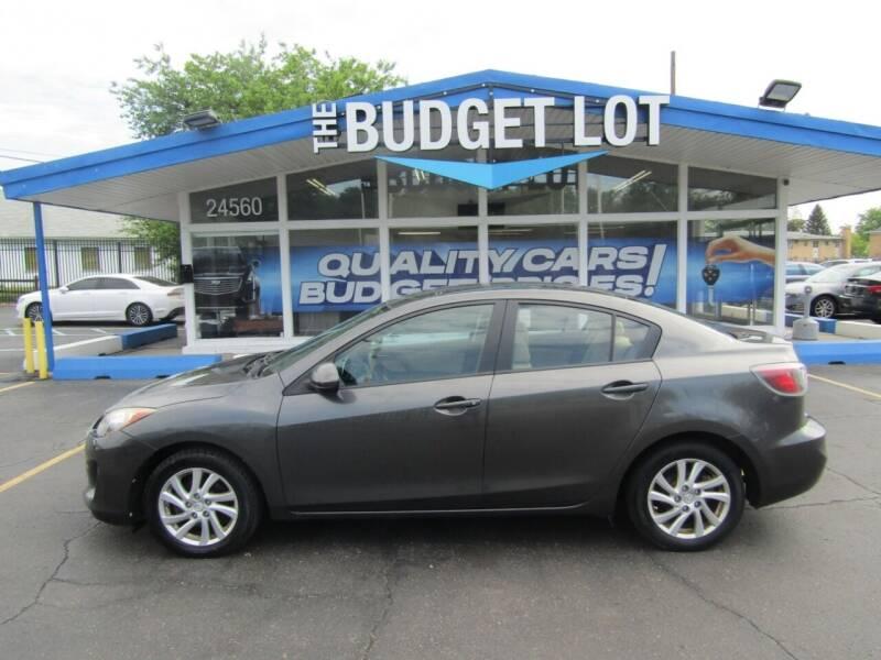 2012 Mazda MAZDA3 for sale at THE BUDGET LOT in Detroit MI