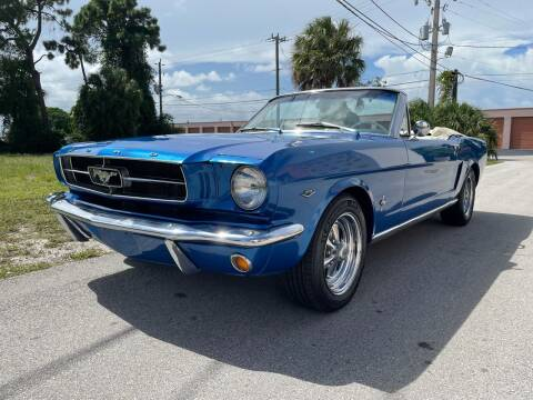 1965 Ford Mustang for sale at American Classics Autotrader LLC in Pompano Beach FL
