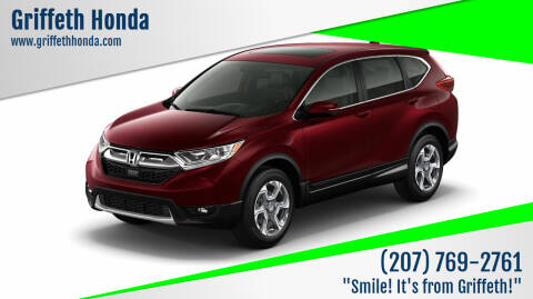 2019 Honda CR-V for sale at Griffeth Honda - Pre Owned in Presque Isle ME