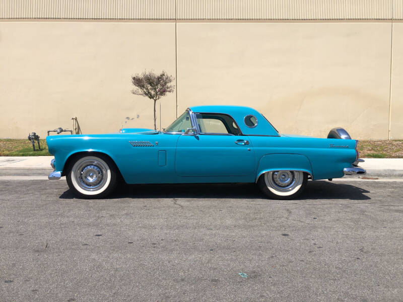 1956 Ford Thunderbird for sale at HIGH-LINE MOTOR SPORTS in Brea CA