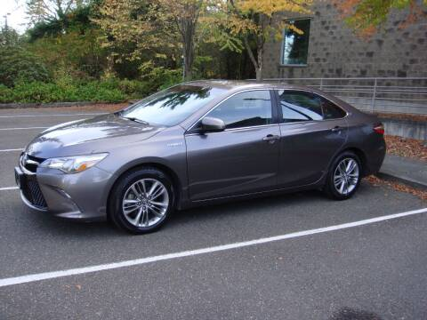 2016 Toyota Camry Hybrid for sale at Western Auto Brokers in Lynnwood WA