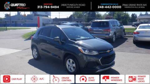 2017 Chevrolet Trax for sale at Quattro Motors 2 - 1 in Redford MI