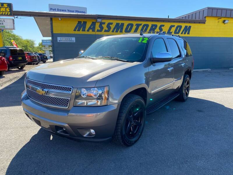 2012 Chevrolet Tahoe for sale at M.A.S.S. Motors - MASS MOTORS in Boise ID