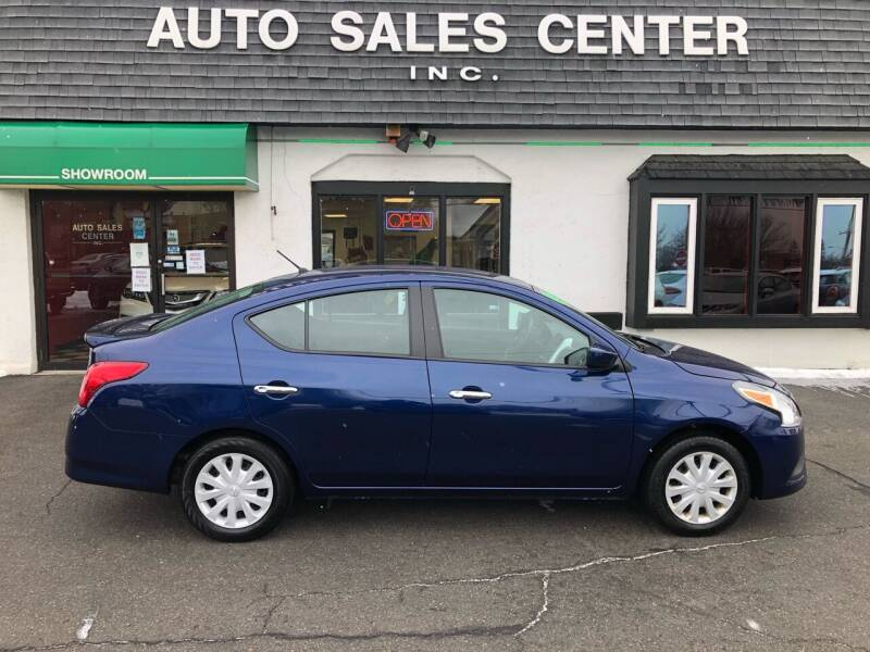 2019 Nissan Versa for sale at Auto Sales Center Inc in Holyoke MA