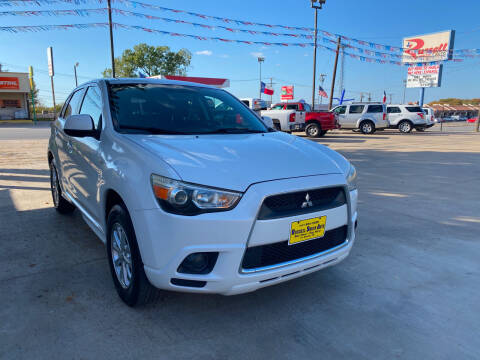 2011 Mitsubishi Outlander Sport for sale at Russell Smith Auto in Fort Worth TX