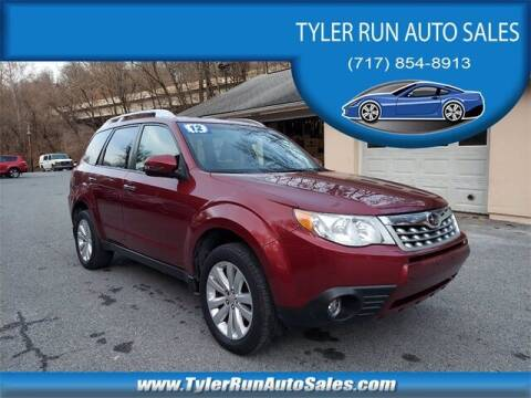 2012 Subaru Forester for sale at Tyler Run Auto Sales in York PA