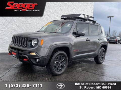 2018 Jeep Renegade for sale at SEEGER TOYOTA OF ST ROBERT in St Robert MO