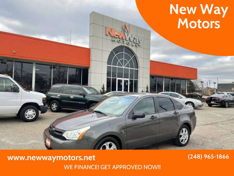 2010 Ford Focus for sale at New Way Motors in Ferndale MI