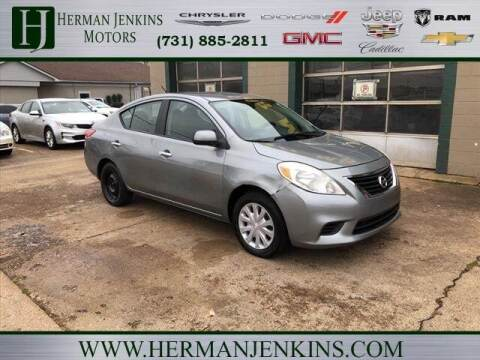 2012 Nissan Versa for sale at Herman Jenkins Used Cars in Union City TN