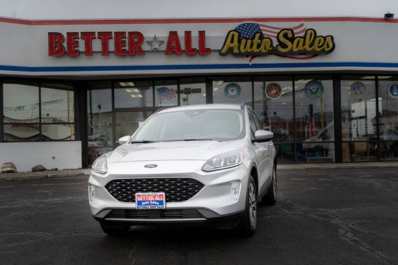 2020 Ford Escape for sale at Better All Auto Sales in Yakima WA