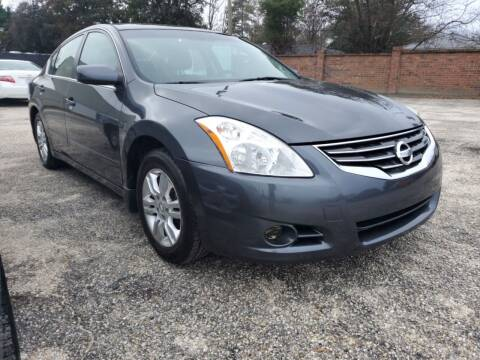 2012 Nissan Altima for sale at Ron's Used Cars in Sumter SC