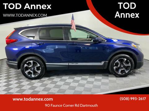 2017 Honda CR-V for sale at TOD Annex in North Dartmouth MA