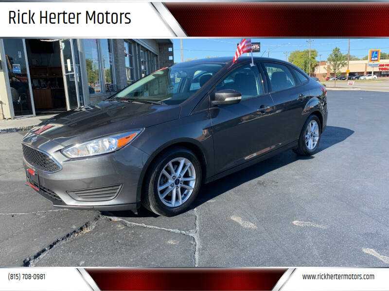 2016 Ford Focus for sale at Rick Herter Motors in Loves Park IL