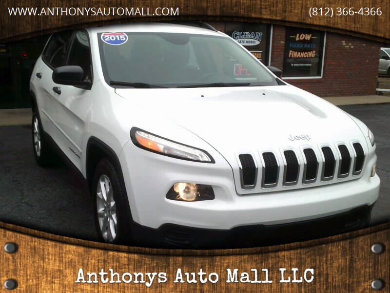 2015 Jeep Cherokee for sale at Anthonys Auto Mall LLC in New Salisbury IN