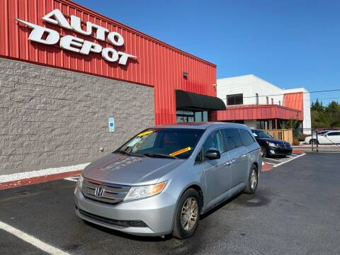 2012 Honda Odyssey for sale at Auto Depot - Nashville in Nashville TN