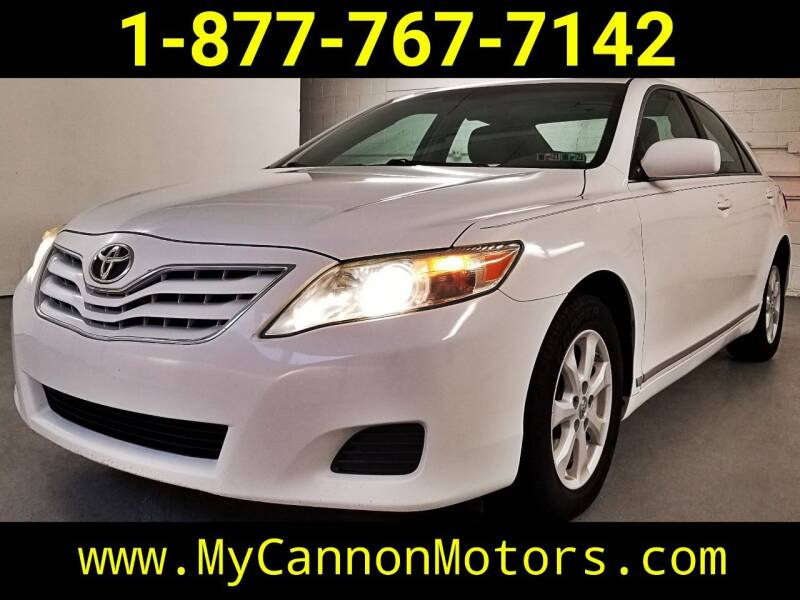 2010 Toyota Camry for sale at Cannon Motors in Silverdale PA