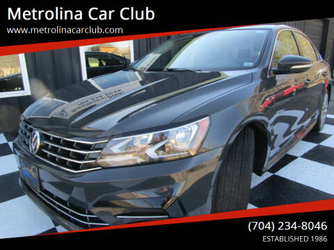 2017 Volkswagen Passat for sale at Metrolina Car Club in Matthews NC