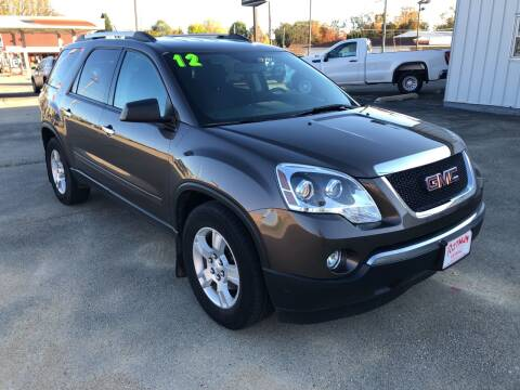 2012 GMC Acadia for sale at ROTMAN MOTOR CO in Maquoketa IA