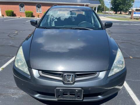 2003 Honda Accord for sale at SHAN MOTORS, INC. in Thomasville NC