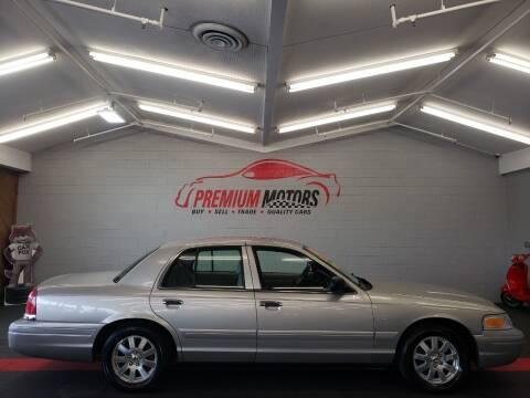 2006 Ford Crown Victoria for sale at Premium Motors in Villa Park IL