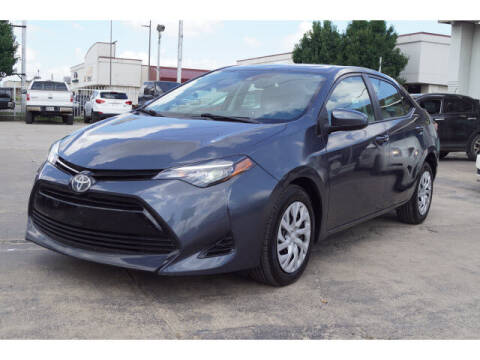 2018 Toyota Corolla for sale at Credit Connection Sales in Fort Worth TX