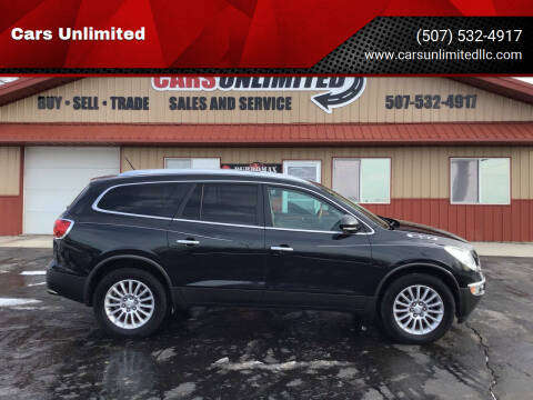 2011 Buick Enclave for sale at Cars Unlimited in Marshall MN