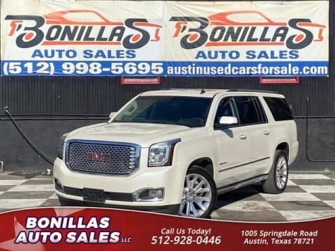 2015 GMC Yukon XL for sale at Bonillas Auto Sales in Austin TX