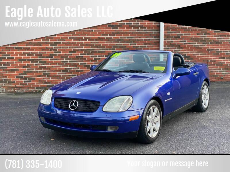 1999 Mercedes-Benz SLK for sale at Eagle Auto Sales LLC in Holbrook MA