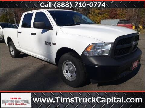 2017 RAM Ram Pickup 1500 for sale at TTC AUTO OUTLET/TIM'S TRUCK CAPITAL & AUTO SALES INC ANNEX in Epsom NH