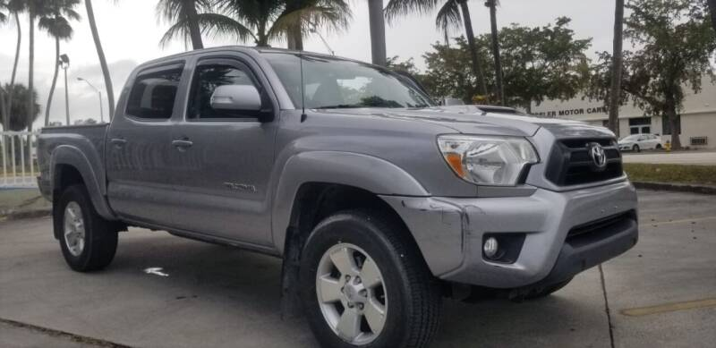2014 Toyota Tacoma for sale at CAR UZD in Miami FL