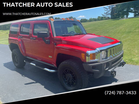2006 HUMMER H3 for sale at THATCHER AUTO SALES in Export PA