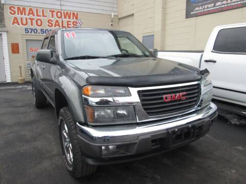 2011 GMC Canyon for sale at Small Town Auto Sales in Hazleton PA