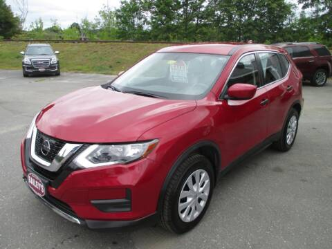 2017 Nissan Rogue for sale at Percy Bailey Auto Sales Inc in Gardiner ME