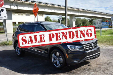 2020 Volkswagen Tiguan for sale at ELITE MOTOR CARS OF MIAMI in Miami FL
