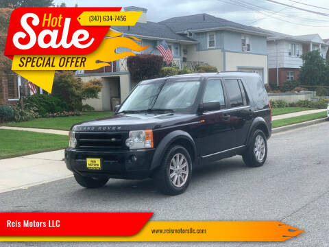 2008 Land Rover LR3 for sale at Reis Motors LLC in Lawrence NY