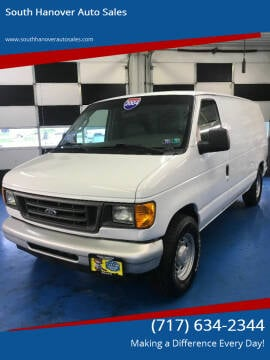 2004 Ford E-Series Cargo for sale at South Hanover Auto Sales in Hanover PA