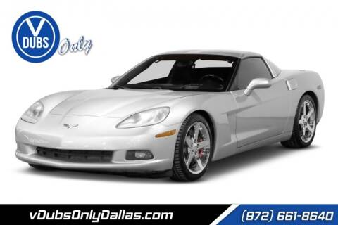 2005 Chevrolet Corvette for sale at VDUBS ONLY in Dallas TX