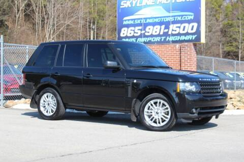 2012 Land Rover Range Rover for sale at Skyline Motors in Louisville TN