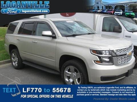 2017 Chevrolet Tahoe for sale at Loganville Quick Lane and Tire Center in Loganville GA