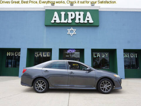 2013 Toyota Camry for sale at ALPHA AUTOMOBILE SALES, LLC in Lafayette LA