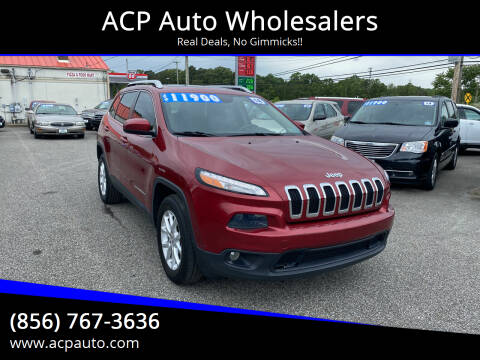 2014 Jeep Cherokee for sale at ACP Auto Wholesalers in Berlin NJ