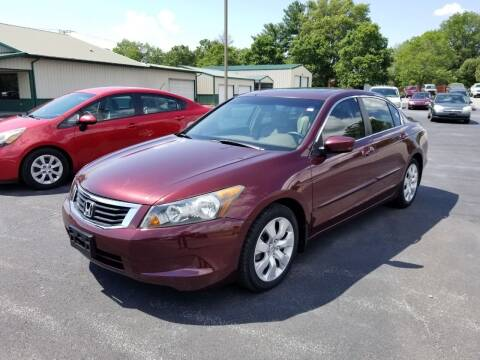 2008 Honda Accord for sale at Ridgeway's Auto Sales in West Frankfort IL