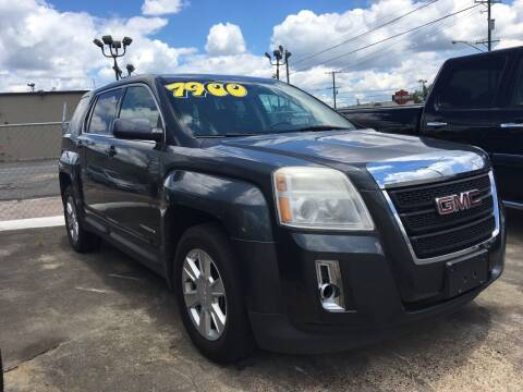 2011 GMC Terrain for sale at Bobby Lafleur Auto Sales in Lake Charles LA