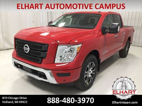2021 Nissan Titan for sale at Elhart Automotive Campus in Holland MI