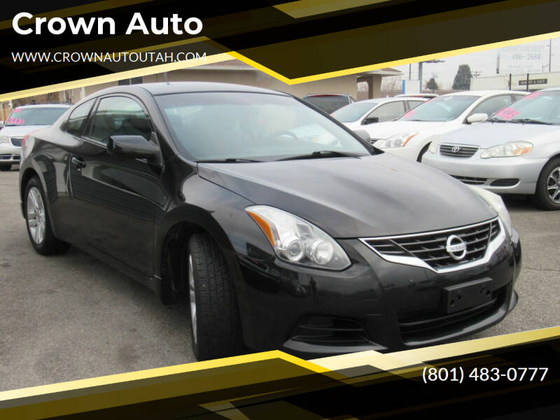 2010 Nissan Altima for sale at Crown Auto in South Salt Lake City UT