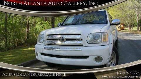 2005 Toyota Tundra for sale at North Atlanta Auto Gallery, Inc in Alpharetta GA