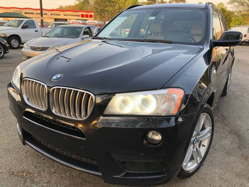 2014 BMW X3 for sale at Atlantic Auto Sales in Garner NC